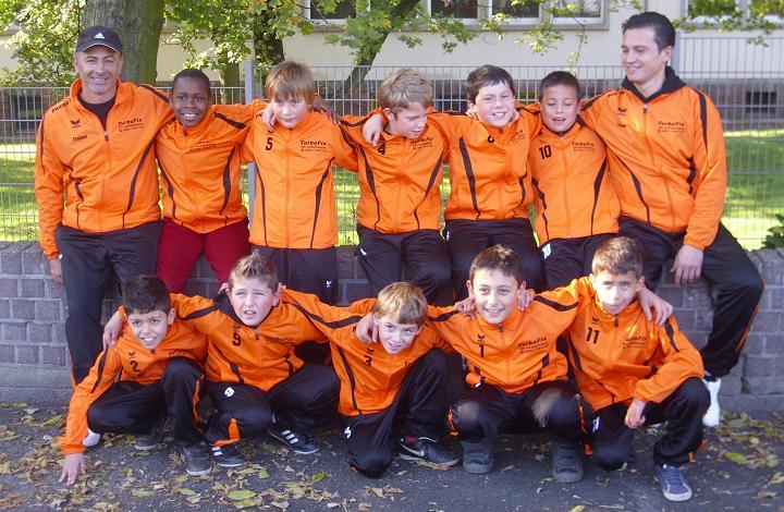 Jahresrückblick auf die E2-Junioren von Ballfreunde Bergeborbeck