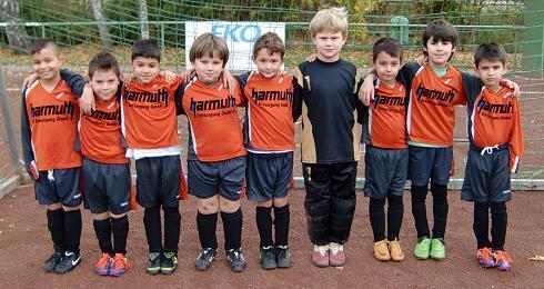 Ballfreunde F2 Jugend am 05.11.2011