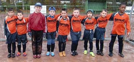 Ballfreunde F2 Jugend am 03.12.2011
