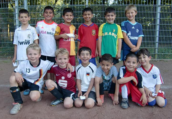 Ballfreunde F2 Junioren am 23.08.2012
