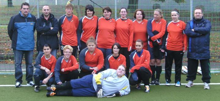 Frauen-Mannschaft von Ballfreunde Bergeborbeck am 09.10.2011