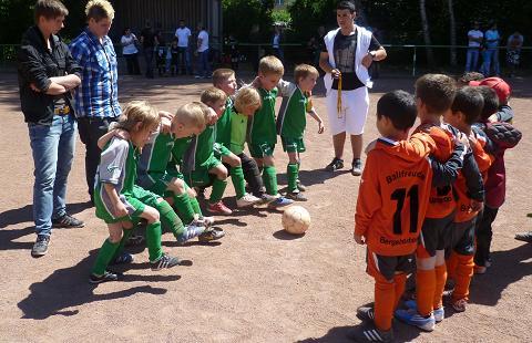 Ballfreunde Bambini 2 am 02.06.2011 im Spiel gegen SV Borbeck