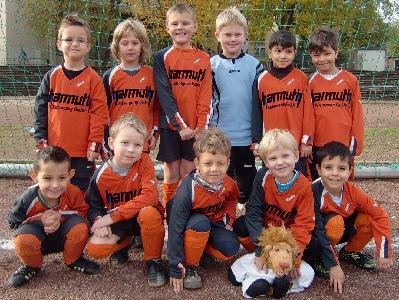 Ballfreunde Bambini am 23.10.2010