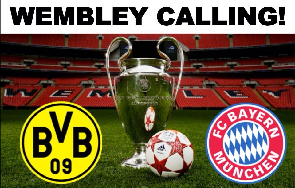 ChampionsLeague Finale 2013 im Wembley Stadion, London, England