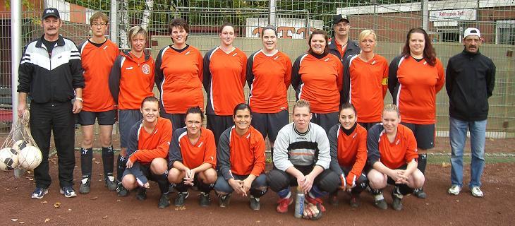 Frauen-Mannschaft von Ballfreunde Bergeborbeck am 25.10.2009