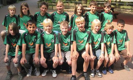 Adler Frintrop E1 - E-Jugend Hallenchampion 2011
