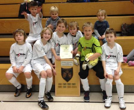 SG Schönebeck - F-Jugend Hallenchampion 2012
