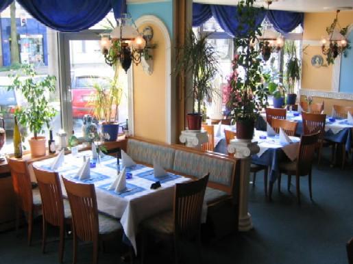 Restaurant Lindos von innen
