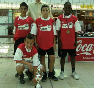 Ballfreunde Bergeborbeck, Sieger beim Real Junior Cup Essen