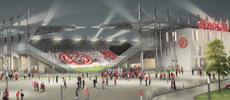 Fan-Demo für RWE-Stadionneubau