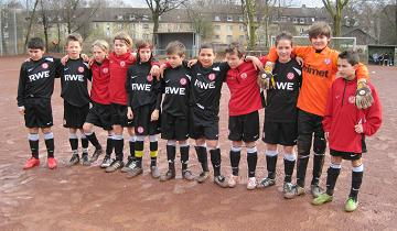RWE U11 Jugend am 20.03.2010