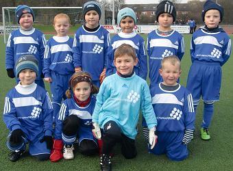 SG Altenessen Bambini am 27.11.2010