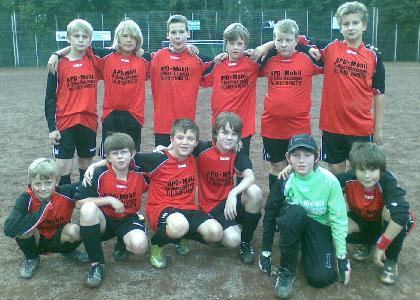 SG Schönebeck D4 Junioren am 25.09.2010
