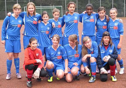 SG Schönebeck U13 Juniorinnen am 06.09.2011