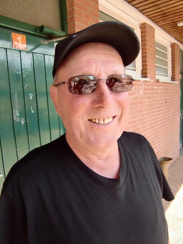Unser Siggi Peukert im Jahre 2010