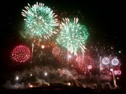 Einen guten Rutsch ins neue Jahr wünscht Ballfreunde Bergeborbeck