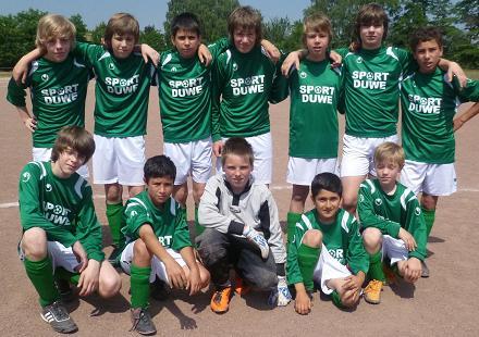 SV Borbeck D1-Jugend am 04.06.2011