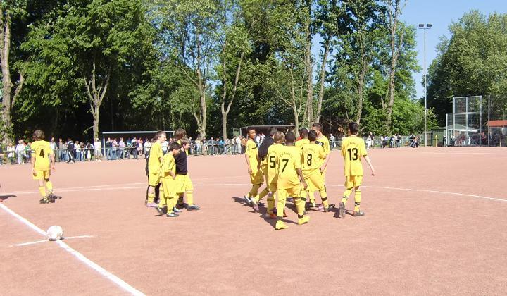 Bilder vom Pokalfinale der D-Jugend 2011