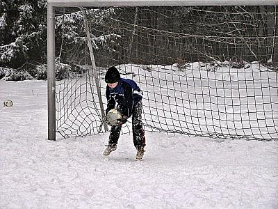 Training auf Schnee