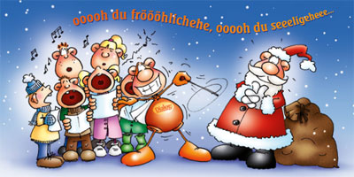 Weihnachtsfeier bei Ballfreunde Bergeborbeck