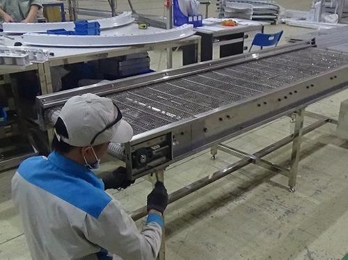 Hệ thống băng tải lưới chịu tải tốt phù hợp xử lý nhiều loại vật liệu