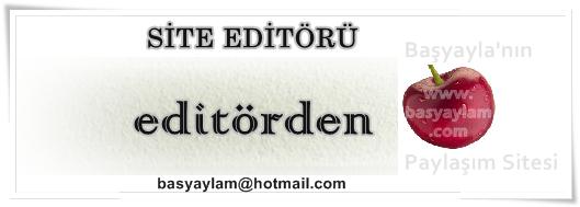 Editörden