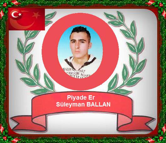 Şehit Süleyman Ballan
