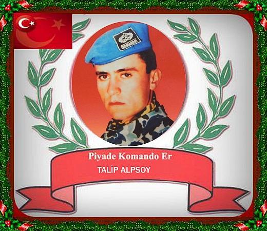 Piyade Komando Er Talip ALPSOY