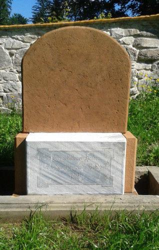Errichtung des Denkmals