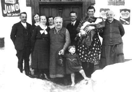 Taufe von Walburga