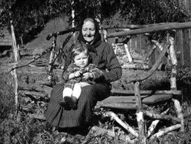 Mit Oma Zwerschke