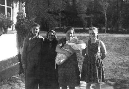 Mutter mit Sohn Günther
