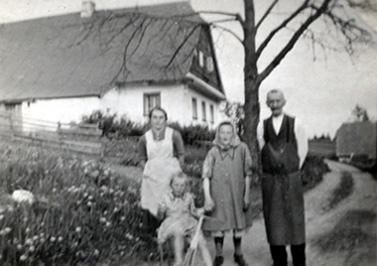 Olga, Elsa, Emma und Franz