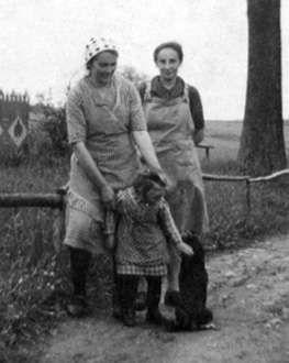 Olga, Elsa und Paula