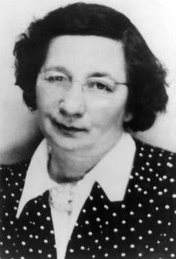 Marie Nutz geb. Hirschberg