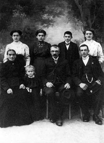Familie Saliger 1913