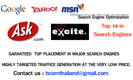 SEO,SEO thailand,seo thailand provider,search engines marketing in thailand