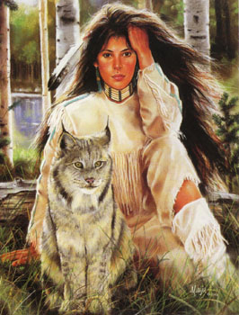 indianer u. wölfe