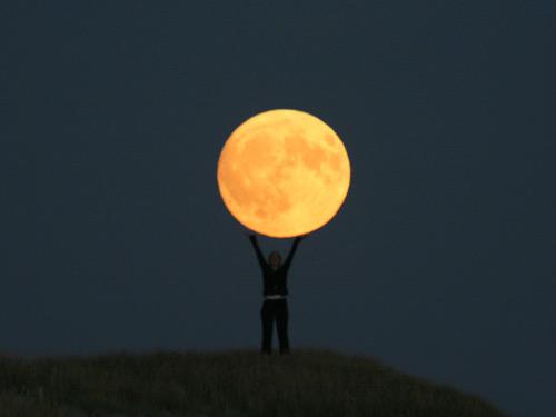 Bilder vom Mond