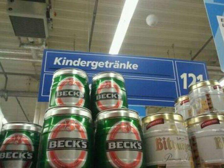 Bier für Kinder Foto