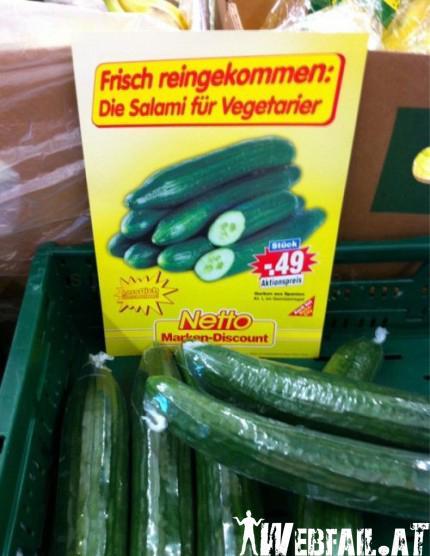 Salami für Vegies