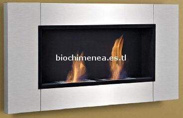 bio chimenea de pared de bioetanol maxi