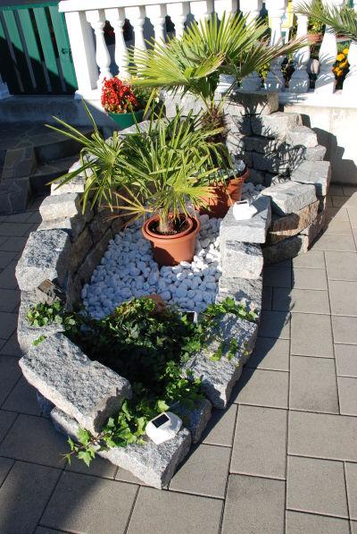 Birgits tiffany deko for Garten mit steinen gestalten