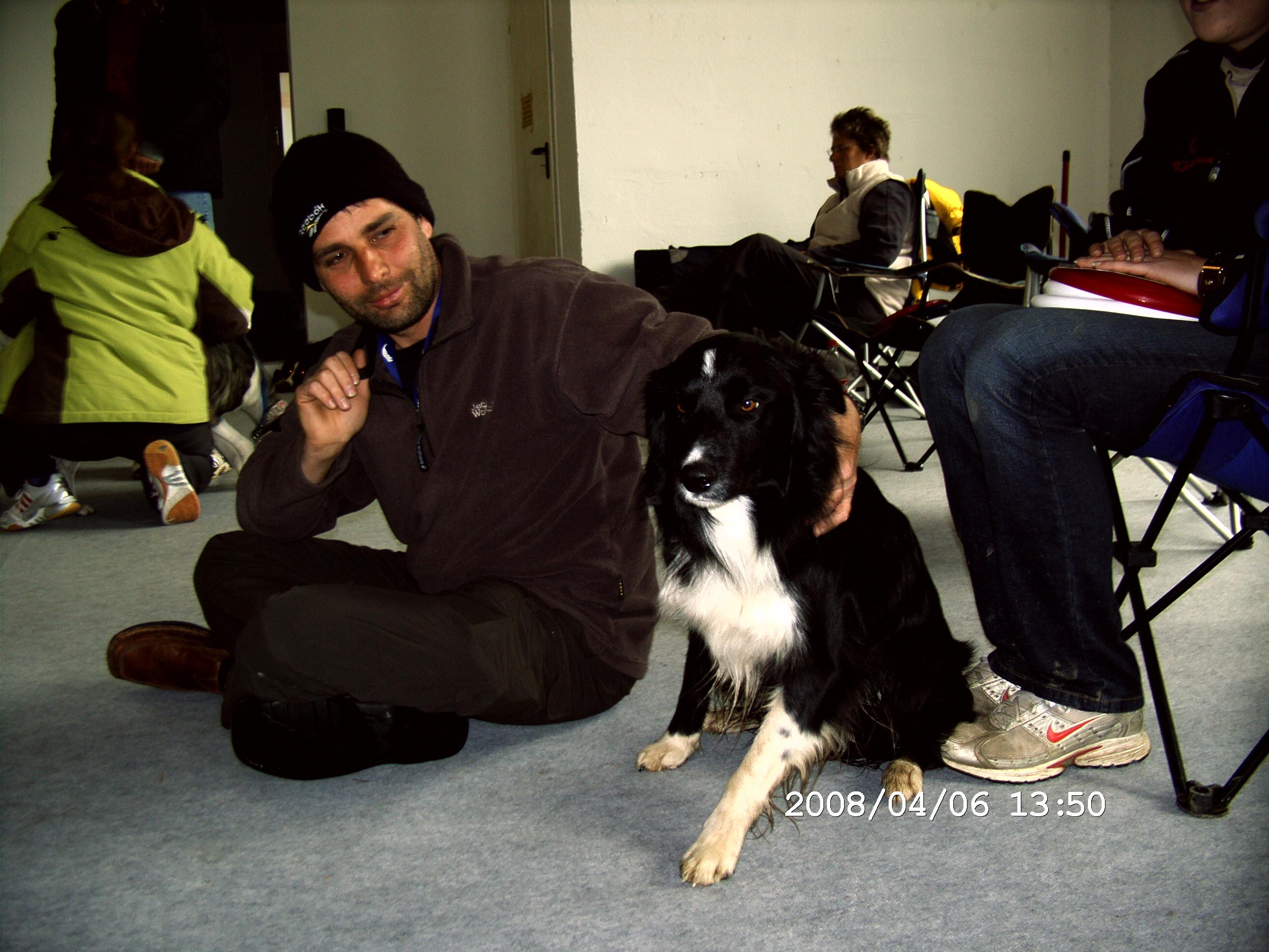 Sascha mit Cozmo