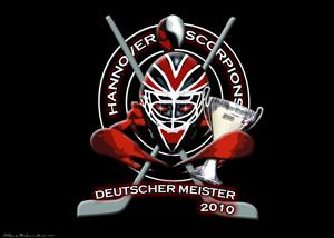 Hannover Scorpions holen den Deutschen Meister Titel 2010, Wallpaper und Handylogs dazu