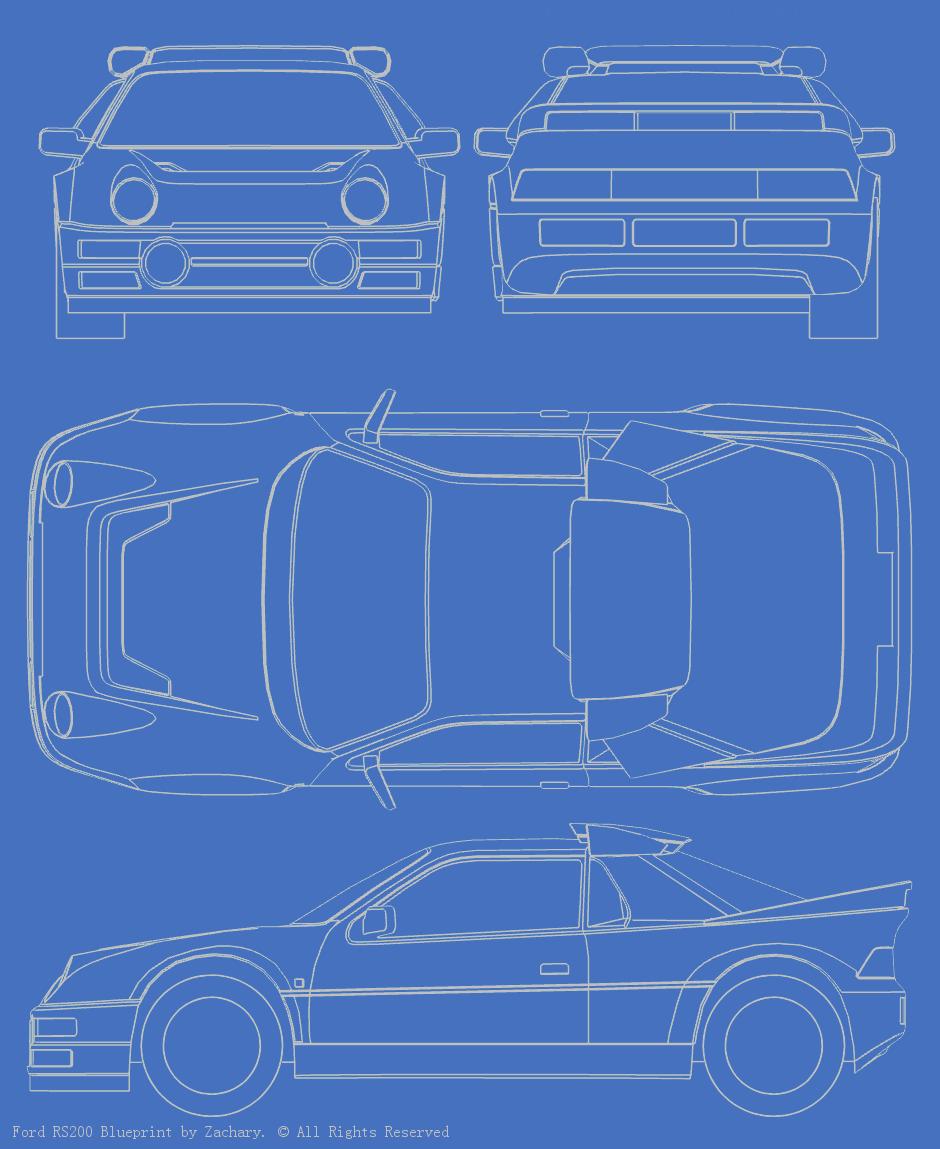 Black Hawk Thunders - Ford Escort MK6