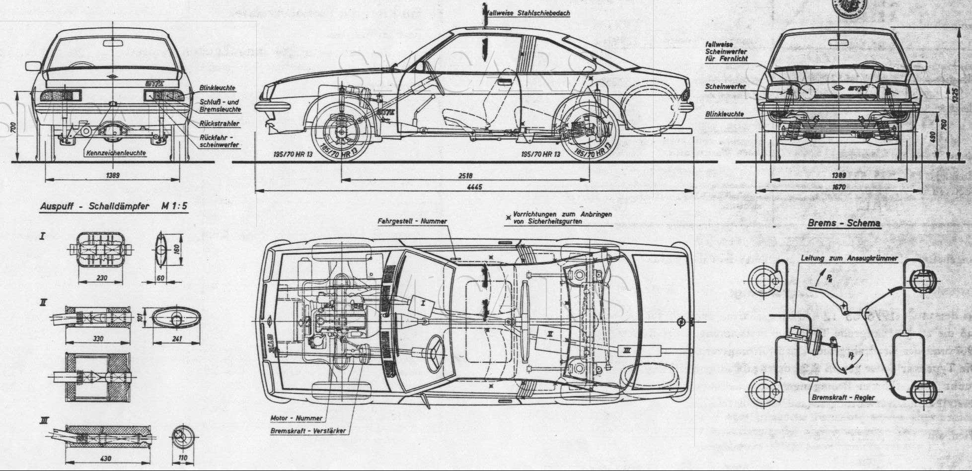 Black Hawk Thunders - Opel Manta B