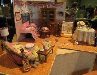 habitación de costura