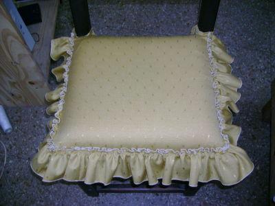 Blanqueria artesanal celeste almohadones - Almohadones para sillas ...