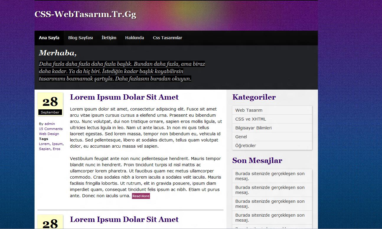 Blog Tasarımı